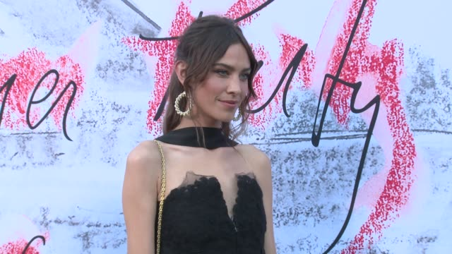 alexa chung at the serpentine gallery on june 19 2018 in london england - the serpentine london stock videos & royalty-free footage