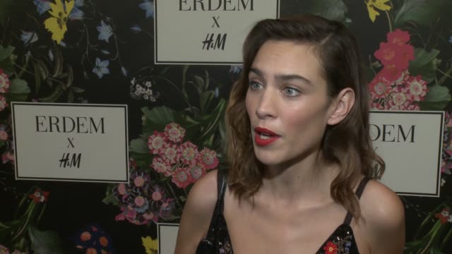 INTERVIEW Alexa Chung on why she wanted to support the Erderm x HM collaboration what she's expecting from the collection talks about her favorite...