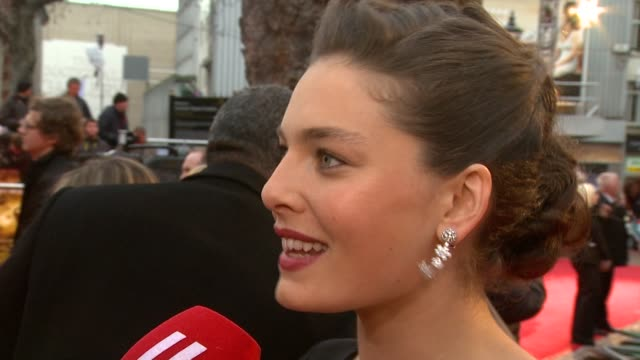 alexa davalos at the the clash of the titans at london england - clash of the titans stock videos & royalty-free footage