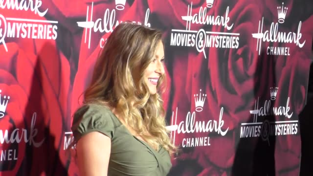 alexa penavega at the hallmark channel and hallmark movies and mysteries winter 2017 tca press tour at tournament house on january 14, 2017 in... - alexa penavega stock videos & royalty-free footage