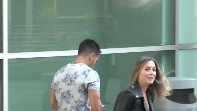 Alexa PenaVega Carlos PenaVega arrives to ArcLight Theatre in Hollywood in Celebrity Sightings in Los Angeles
