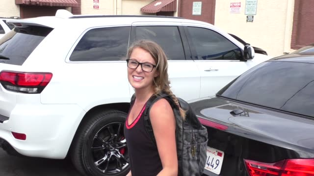 alexa penavega on where she was on 9/11 outside the 'dancing with the stars' rehearsal studio in hollywood at celebrity sightings in los angeles on... - alexa penavega stock videos & royalty-free footage