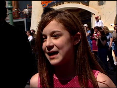 alexa vega at the 'spy kids' premiere at disney's california adventure in anaheim, california on march 18, 2001. - alexa penavega stock videos & royalty-free footage
