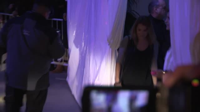Alexa Vega Carlos Pena exchange greeting upon departing KIIS FM's Jingle Ball Staples Los Angeles at Celebrity Sightings in Los Angeles 12/06/13