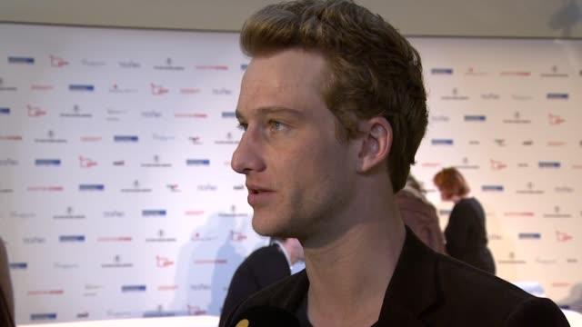 Alexander Fehling at the Shooting Stars Interview 61st Berlin International Film Festival at Berlin
