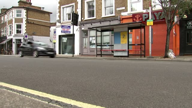 family appeal for help as police release cctv footage england london hammersmith ext victoria oluniluyi interview sot car along road near where... - crime and murder stock videos & royalty-free footage