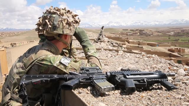 alexander lehinger from minneapolis, minnesota with the u.s. army's 2nd battalion 87th infantry regiment, 3rd brigade combat team, 10th mountain... - afghan national army stock videos & royalty-free footage