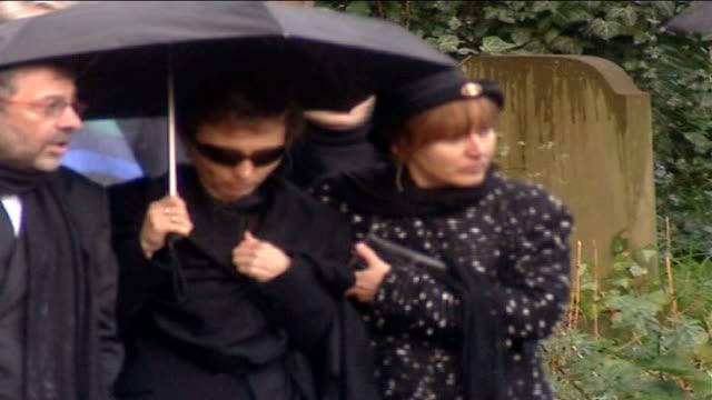 alexander litvinenko death: radiation traces found in hamburg / widow speaks out to media; tx 7.12.2006 england: london: highgate: ext marina... - widow stock videos & royalty-free footage