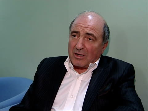Andrei Lugovoi implicates MI6 Location unknown Boris Berezovsky interview SOT On danger of his life and need for protection / Every dictator doesn't...