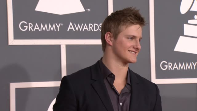 Alexander Ludwig at 54th Annual GRAMMY Awards Arrivals on 2/12/12 in Los Angeles CA