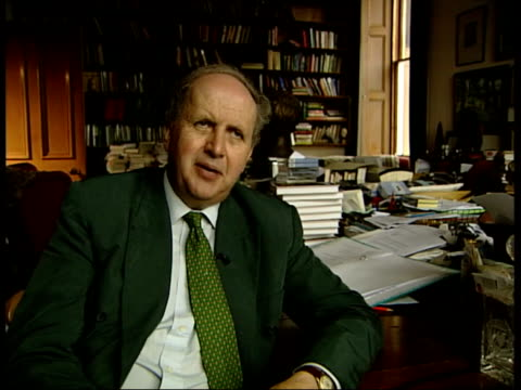 alexander mccall smith interview sot some of them have said precious ramotswe is my mother or my aunt i knew woman like that paperback copy of smith... - aunt stock videos and b-roll footage