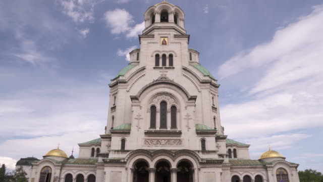 alexander nevsky cathedral, sofia, bulgaria - bulgaria stock videos & royalty-free footage