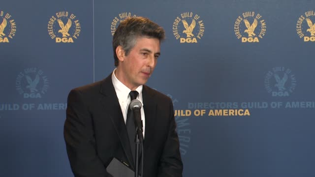 Alexander Payne on the film and event at 64th Annual DGA Awards Press Room on 1/28/12 in Los Angeles CA