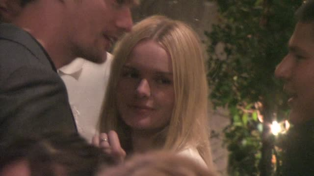 Alexander Skarsgard and Kate Bosworth at STK in West Hollywood at the Celebrity Sightings in Los Angeles at Los Angeles CA