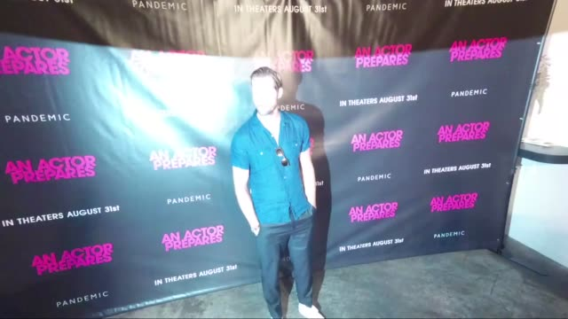 Alexander Skarsgard at 'An Actor Prepares' New York Screening at Metrograph on August 29 2018 in New York City