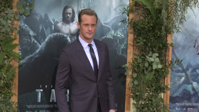 Alexander Skarsgard at Premiere Of Warner Bros Pictures' 'The Legend Of Tarzan' in Los Angeles CA