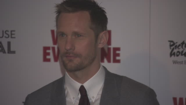 Alexander Skarsgard at 'War on Everyone' UK Premiere on September 29 2016 in London England