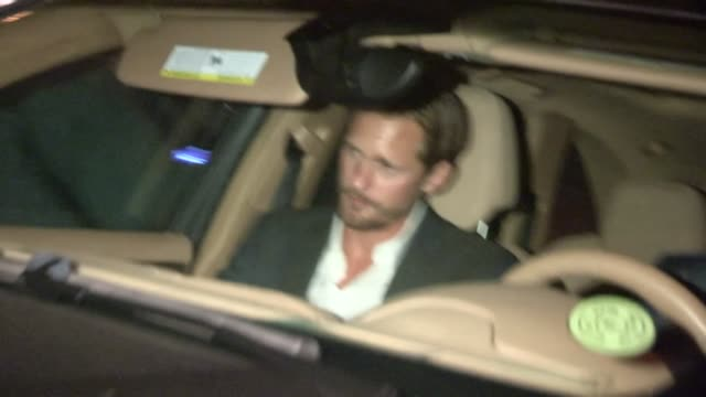 Alexander Skarsgard enters Chateau Marmont in West Hollywood 12/10/12