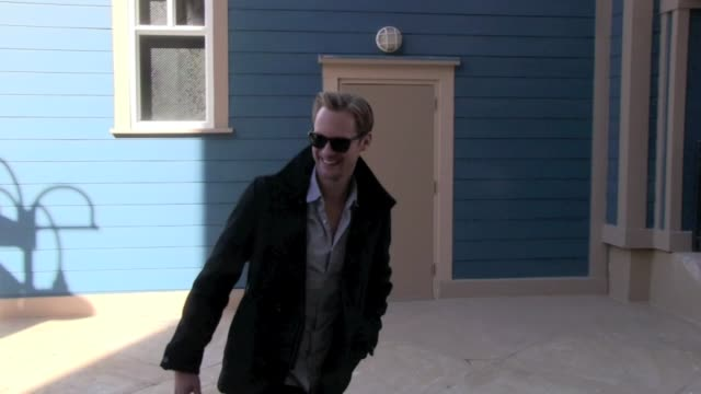 Alexander Skarsgard on his film 'The East' in Park City UT on 01/21/13