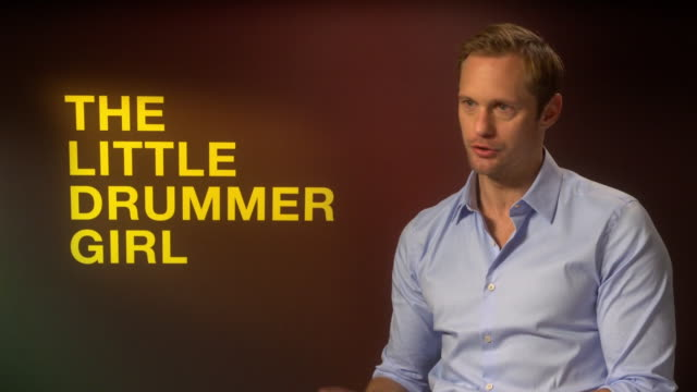 INTERVIEW Alexander Skarsgard on the political relevance of 'The Little Drummer Girl' and terrorism at 'The Little Drummer Girl' Interviews 62nd BFI...