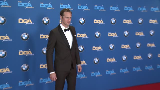 Alexander Skarsgård at 68th Annual Directors Guild Of America Awards in Los Angeles CA