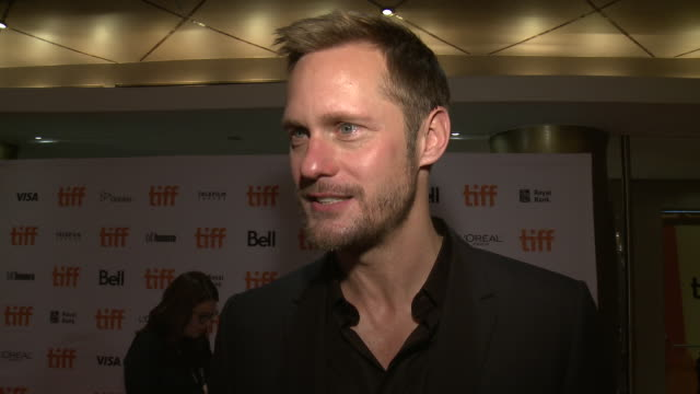 INTERVIEW Alexander Skarsgård on what stood out about this project talks about the challenges of filming working with the wolves and looking forward...
