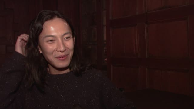INTERVIEW Alexander Wang talks about partnering with CN at CND For Alexander Wang New York Fashion Week Fall/Winter2013 at The Cunard Building on...