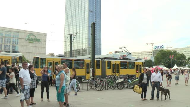 alexanderplatz, berlin - alexanderplatz stock videos & royalty-free footage