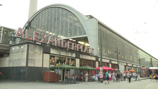 alexanderplatz, berlin - alexanderplatz stock videos & royalty-free footage