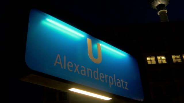 Alexanderplatz, Berlin,U Bahn,ZO,