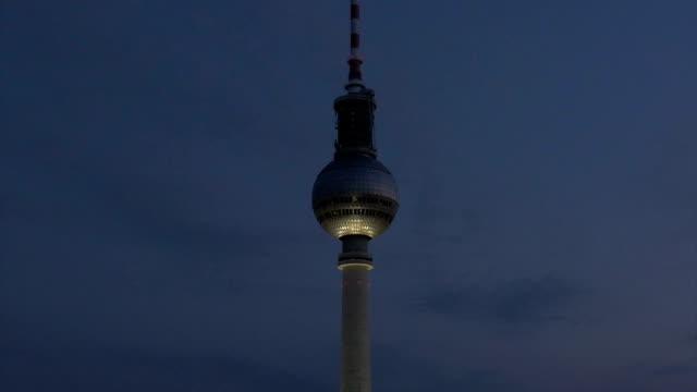 Alexanderplatz, Fernsehturm tower,Berlin,ZO