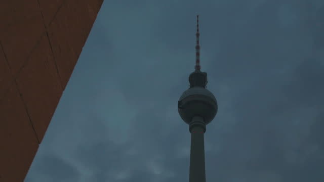 Alexanderplatz tower in Berlin, Germany