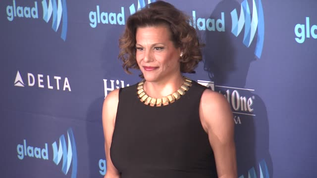 alexandra billings at the 26th annual glaad media awards at the beverly hilton hotel on march 21 2015 in beverly hills california - the beverly hilton hotel stock videos & royalty-free footage