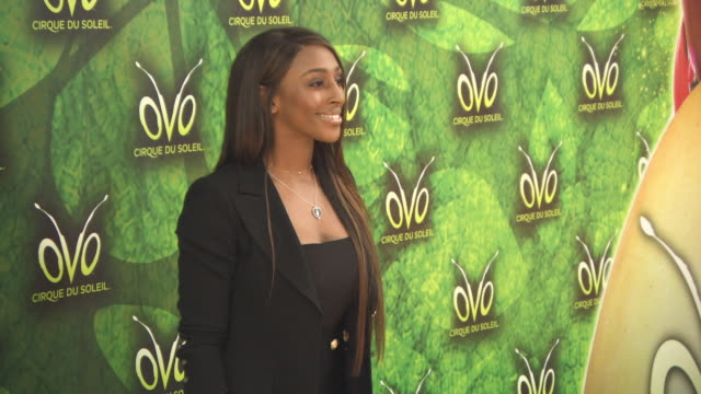 alexandra burke at 'ovo cirque du soleil' uk premiere on january 10 2018 in london england - cirque du soleil stock videos & royalty-free footage