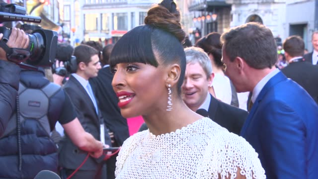 Alexandra Burke at The Laurence Olivier Awards with MasterCard on April 13 2014 in London England