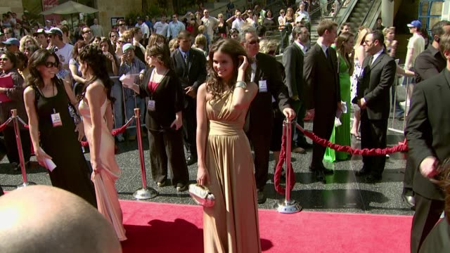 alexandra chando at the 2007 daytime emmy awards at the kodak theatre in hollywood california on june 15 2007 - daytime emmy preisverleihung stock-videos und b-roll-filmmaterial