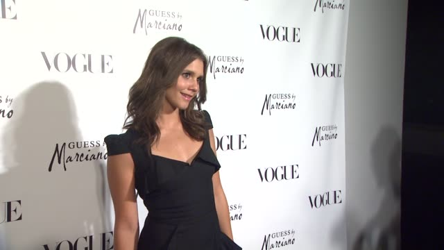 Alexandra Chando at the GUESS By Marciano VOGUE 2011 Holiday Collection Debut at Beverly Hills CA