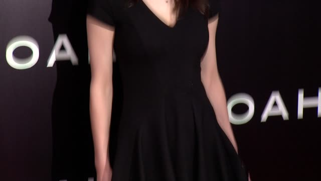 Alexandra Daddario at 'Noah' New York Premiere Arrivals at Ziegfeld Theater on March 26 2014 in New York City