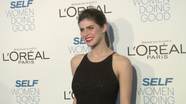 Alexandra Daddario at SELF Magazine's Women Doing Good Awards on September 11 2013 at Apella New York New York