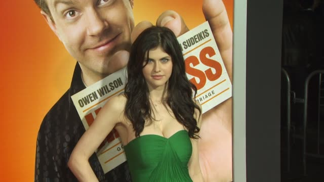Alexandra Daddario at the 'Hall Pass' Premiere at Hollywood CA