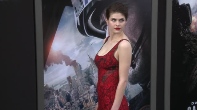 Alexandra Daddario at the 'San Andreas' Los Angeles World Premiere at TCL Chinese Theatre on May 26 2015 in Hollywood California