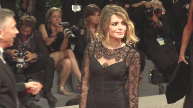 Alexandra Dinu at 'Loving Pablo' Red Carpet 74th Venice International Film Festival at Palazzo del Casino on September 05 2017 in Venice Italy