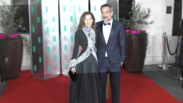 alexandra kravetz and todd phillips attend the ee british academy film awards 2020 after party at the grosvenor house hotel on february 02 2020 in... - british academy film awards stock videos & royalty-free footage