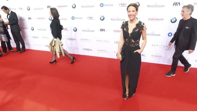 Alexandra Neldel at the Lola German Film Award at Messe Berlin on May 27 2016 in Berlin Germany