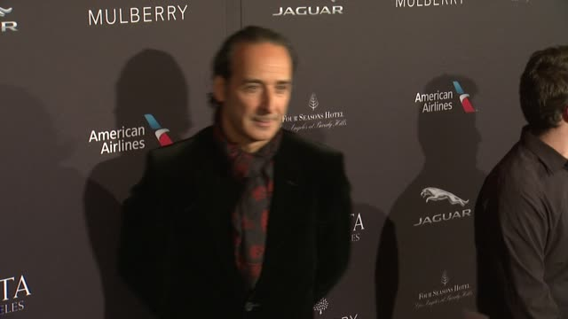 Alexandre Desplat at the 2015 BAFTA Los Angeles Tea Party at The Four Seasons Hotel on January 10 2015 in Beverly Hills California