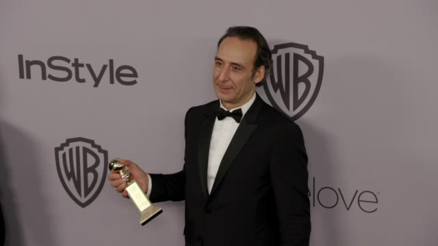 Alexandre Desplat at the Warner Bros Pictures and InStyle Host 19th Annual PostGolden Globes Party at The Beverly Hilton Hotel on January 7 2018 in...