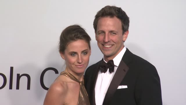 alexi ashe and seth meyers at the lincoln center presents an evening with ralph lauren hosted by oprah winfrey at new york ny - alexi ashe stock videos and b-roll footage