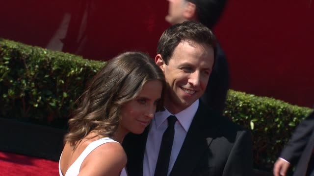 alexi ashe seth meyers at the 2011 espy awards at los angeles ca - alexi ashe stock videos and b-roll footage