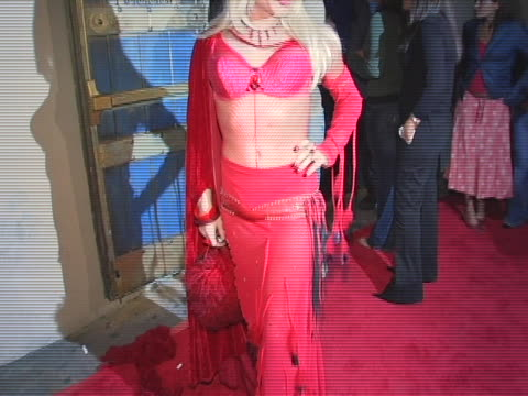 Alexis Arquette at the Paris Hilton Hosts The Red Party in Celebration of the First Anniversary of Spider Club at Spider Club in Los Angeles CA