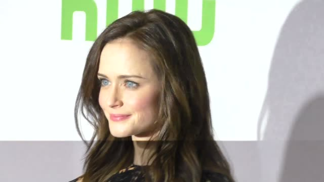 alexis bledel at the 2017 winter television critics association tour hulu press day at langham hotel on january 07, 2017 in pasadena, california. - alexis bledel stock videos & royalty-free footage